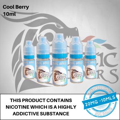 Cool Berry Nic Salt 10ml 20mg