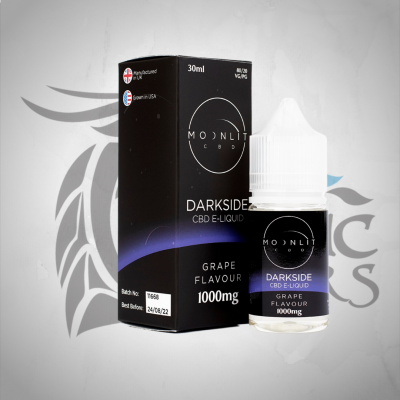 Moonlit CBD Darkside E-Liquid 1000mg 30ml – Grape