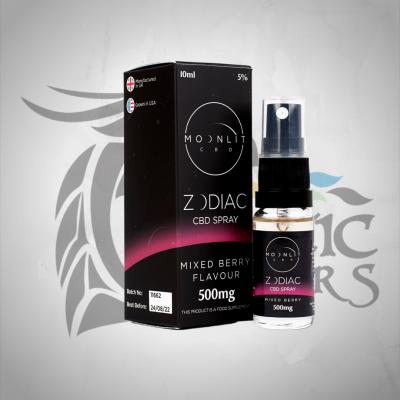 Moonlit CBD Zodiac Spray 500mg 10ML - Mixed Berry