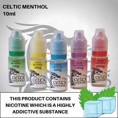 Celtic Menthol 10ml