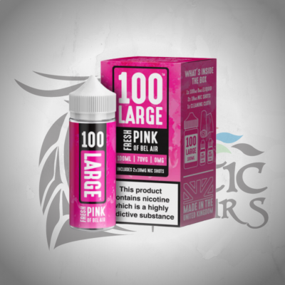 100 Large - Fresh Pink Of Bel Air Shortfill 100ml