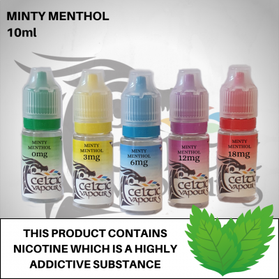 Minty Menthol 10ml