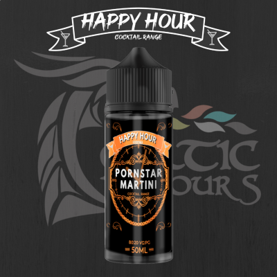 Pornstar Martini Shortfill By Happy Hour Cocktails 50ML
