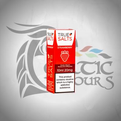 True Salts - Strawberry Nic Salt 10ml 20mg