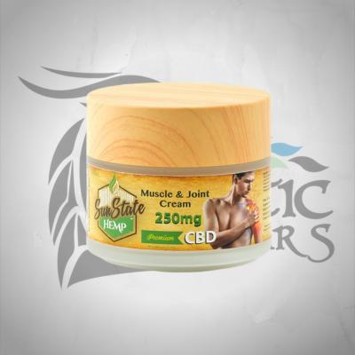 Sun State CBD Muscle & Joint Cream 250mg 100ml