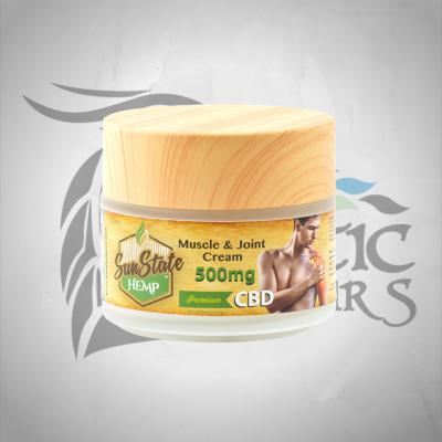 Sun State CBD Muscle & Joint Cream 500mg 100ml