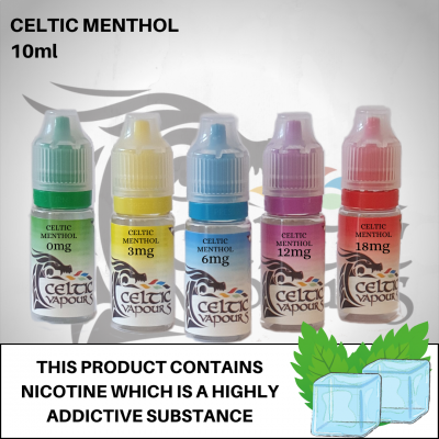 Celtic Menthol 10ml