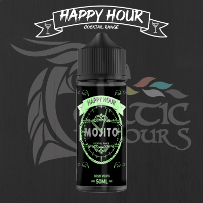 Mojito Shortfill By Happy Hour Cocktails 50ML
